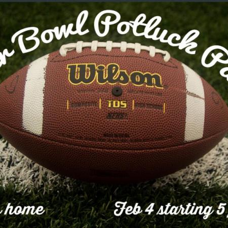 Super Bowl Potluck Party, Feb 4