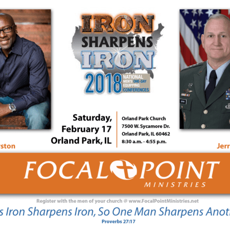 Men's Ministry: Iron Sharpens Iron Men's Conference, Feb 17