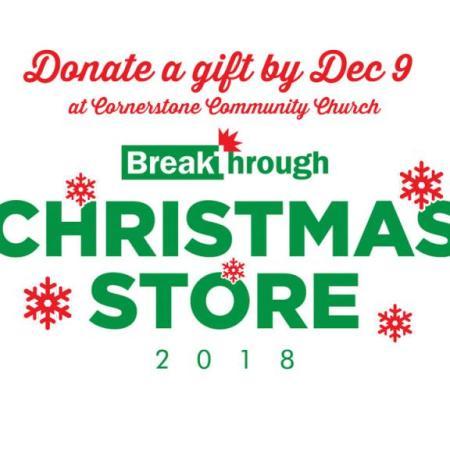 Breakthrough Urban Ministries' Christmas Store