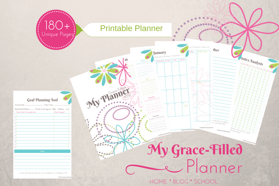 My Grace-Filled Planner