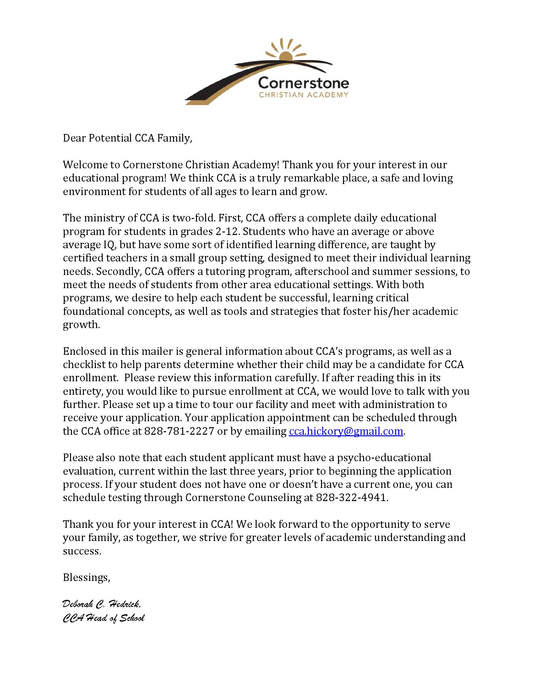 Thank you for loving me letter thank you for loving me letter click here for 2018 19 new enrollment letter from cca head of school expocarfo Image collections