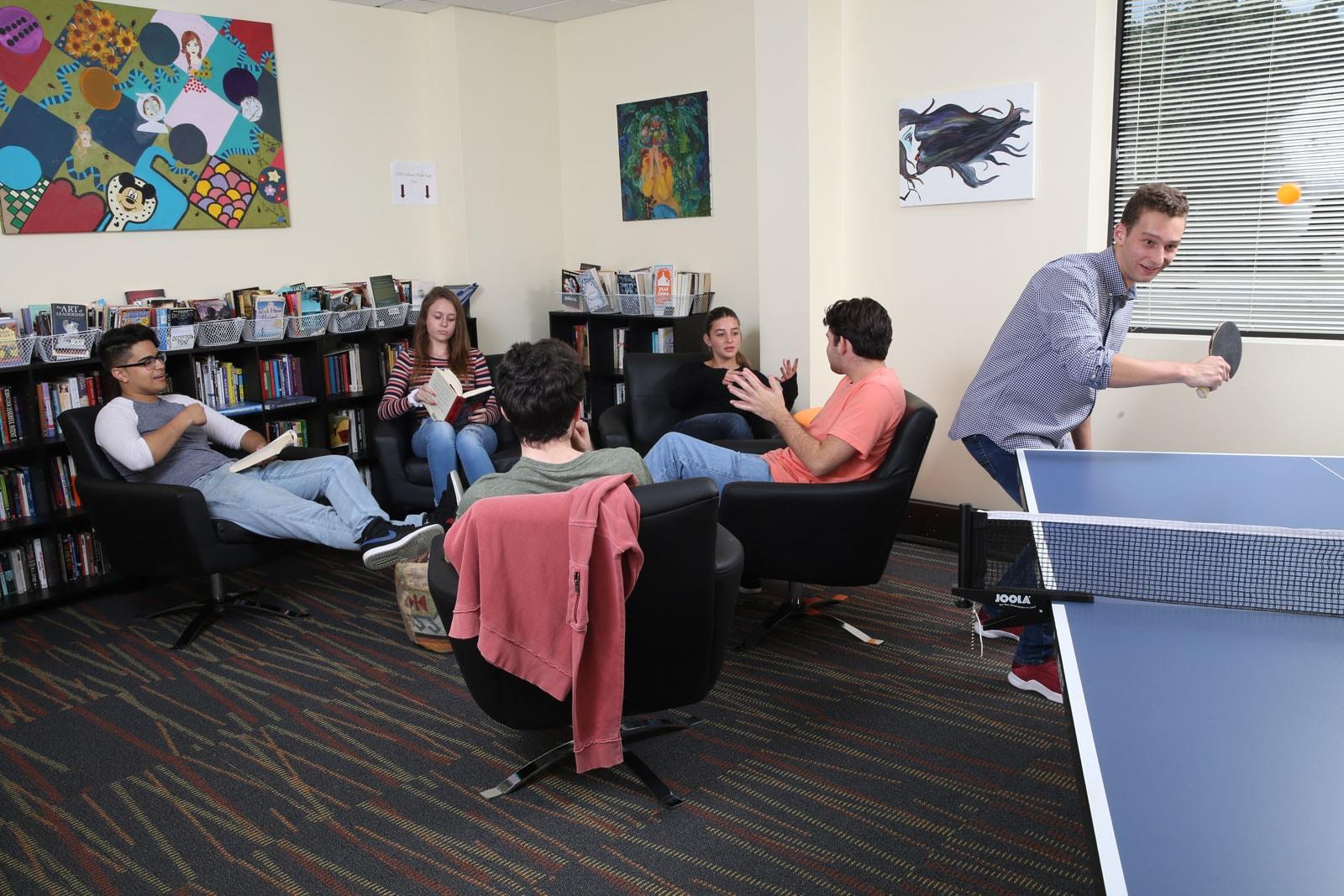 Cornerstone student lounge