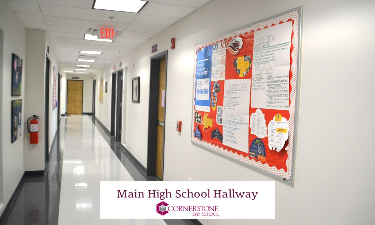 Main High School Hallway