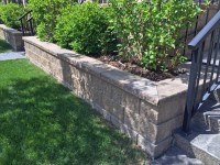 Modern Looking Retaining Wall Blocks | CornerStone Wall ...