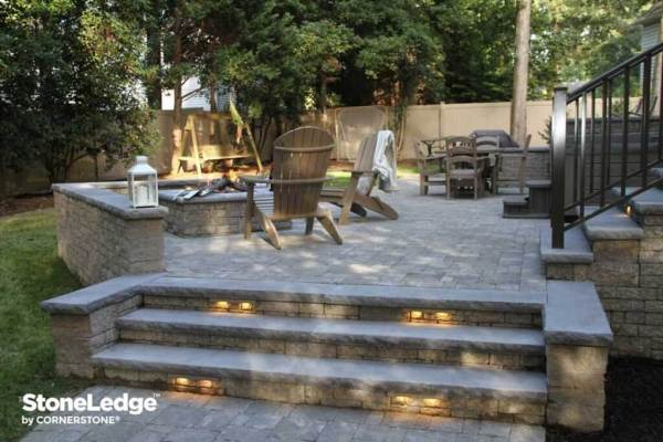 landscape hardscape lighting