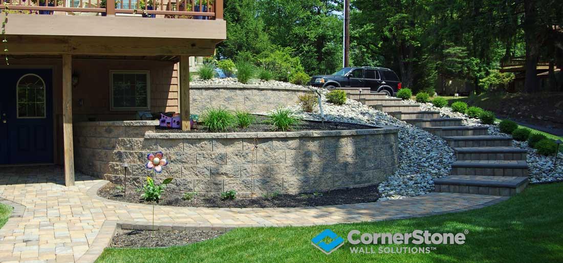 Retaining Wall Blocks Roanoke Virginia Boxley Block