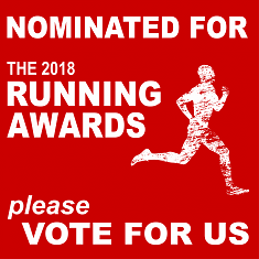 I am nominated for a Running Award!