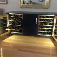 Custom Wine Cabinets | Corner Wines