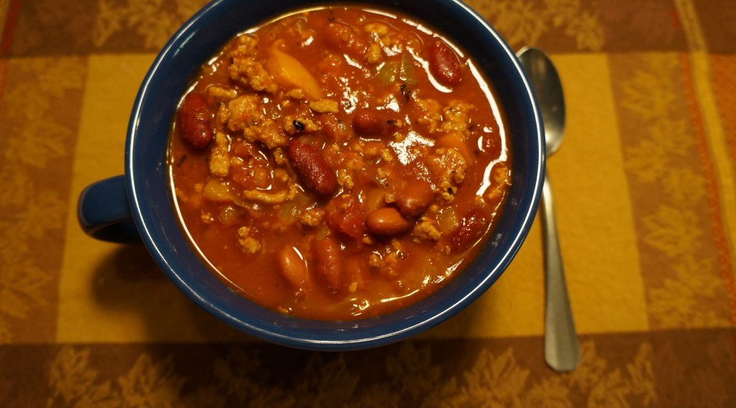 Hearty Cornfed Chili