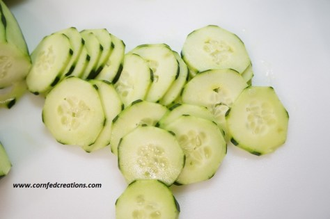 creamy ranch cucumber tomato salad