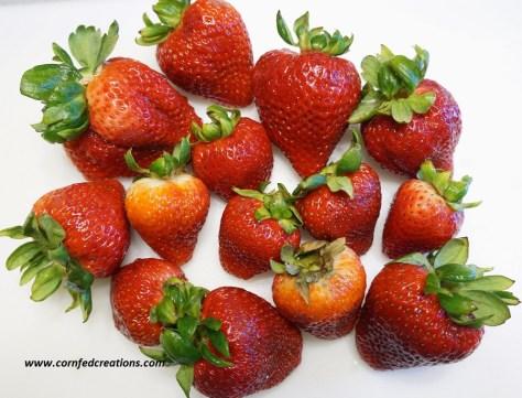 heavenly fresh strawberry trifle