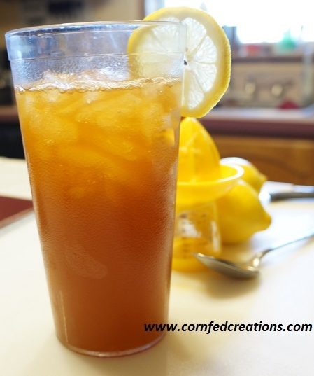 Honey Lemon Iced Tea Cornfed Creations