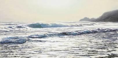 Cornish Art Seascape Painting