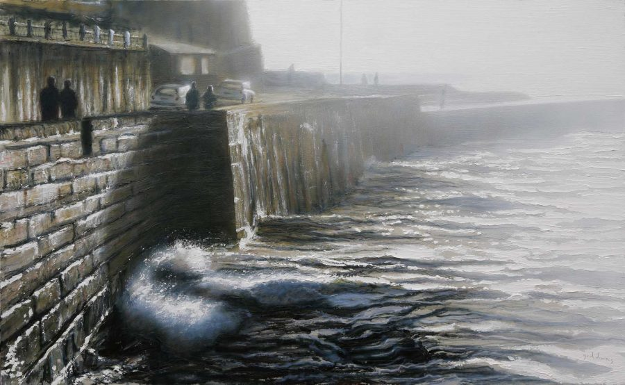 porthleven pier by Andrew Giddens