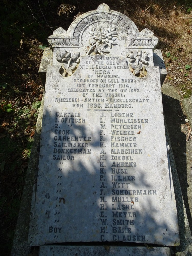longest grave in UK Veryan