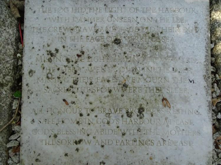 longest grave in UK Veryan