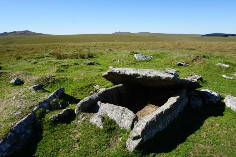 Buttern Hill Cist, Bodmin Moor