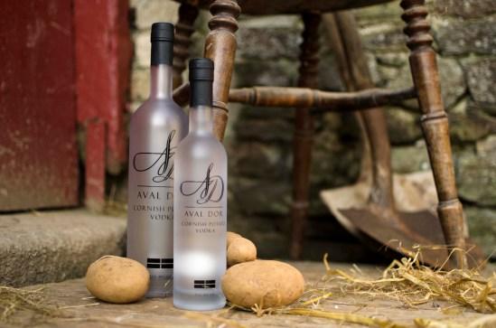 Aval Dor Vodka potatoes