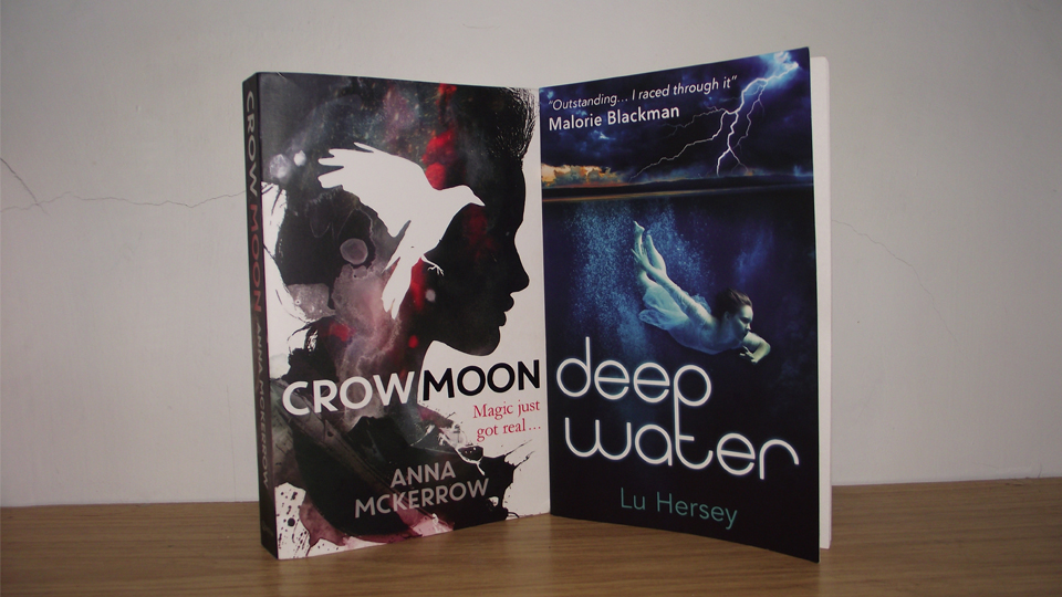 Deep Water and Crow Moon books