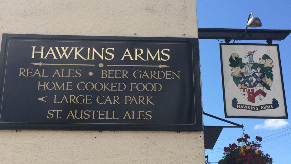 Hawkins Arms Pub