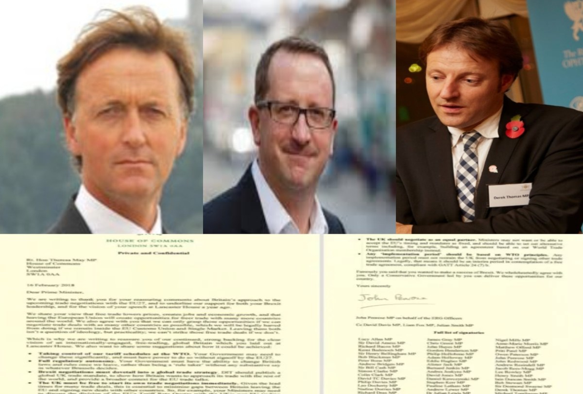 We need to talk about... the Brexit letter - opponents slam Thomas, then each other