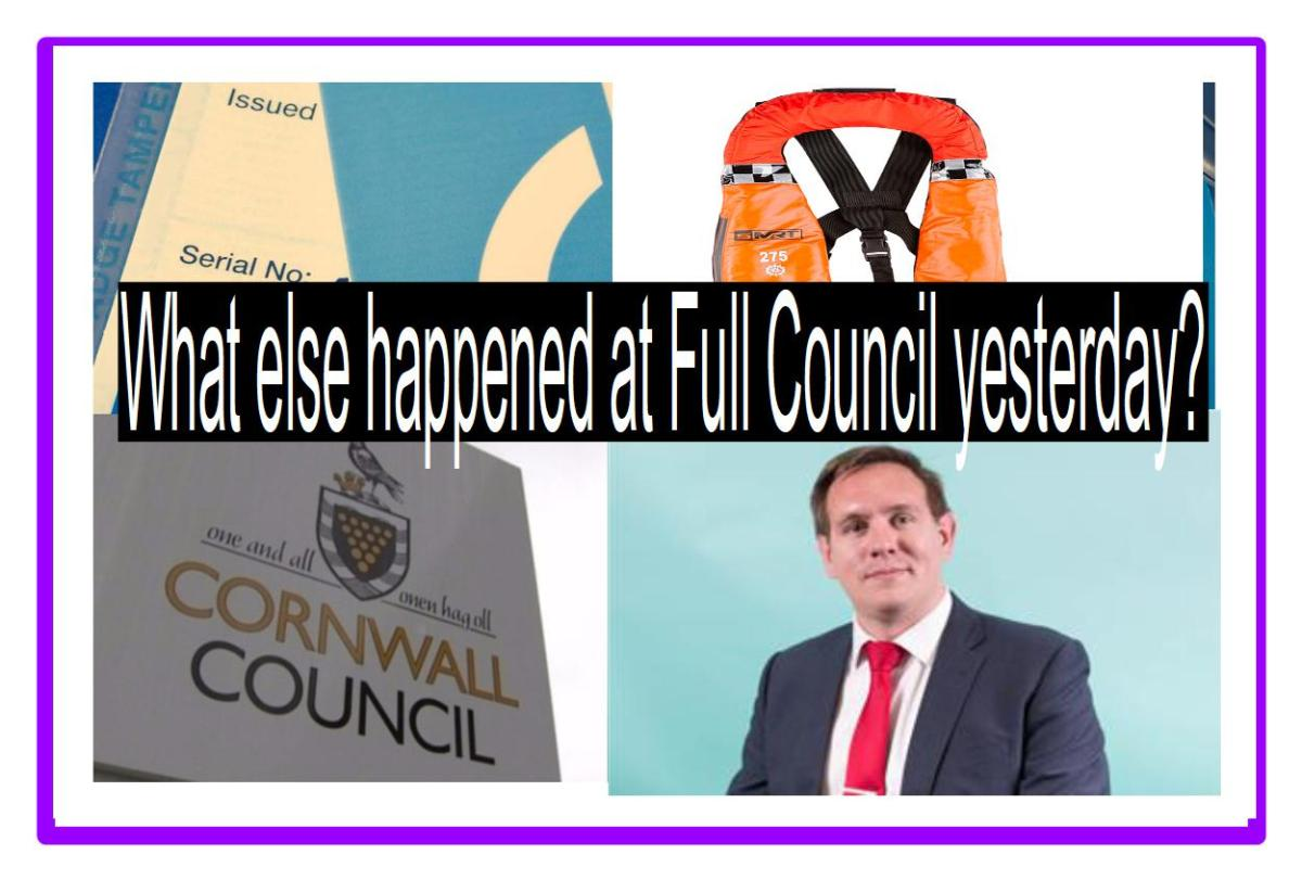 Apart from the Stadium, what else happened at Full Council yesterday?