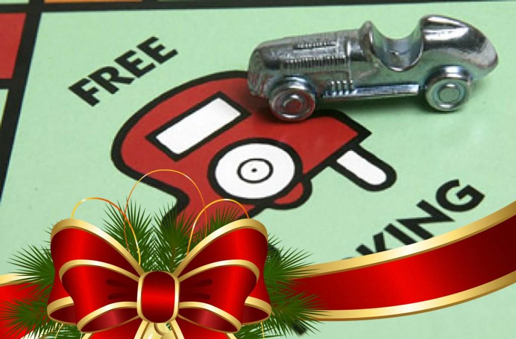 dates of xmas free parking