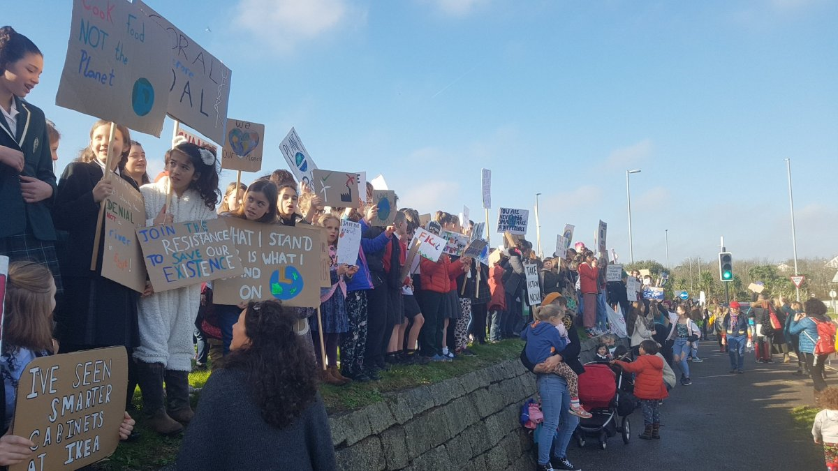 Cornish Students Strike Over Climate Change