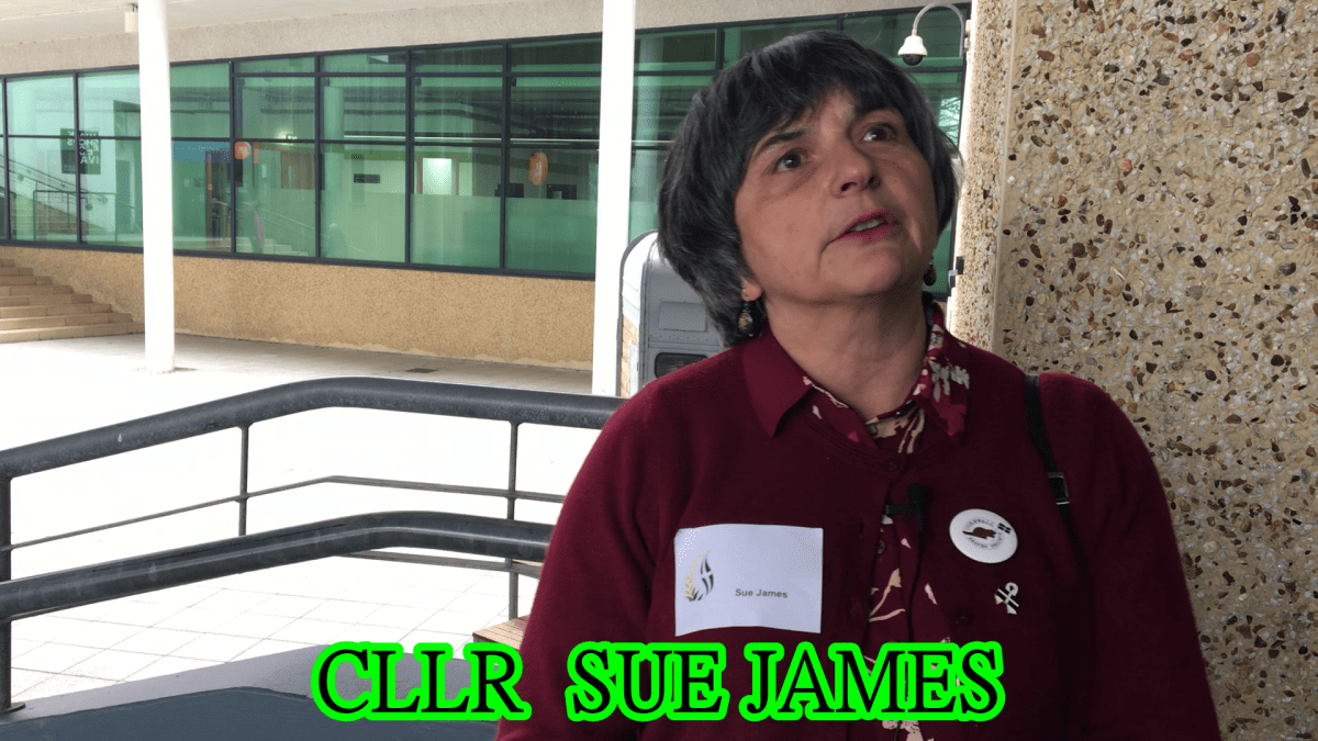 Sue James Voted Out of Cabinet