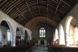 Hall - Wagon ceiling at Lanteglos Church