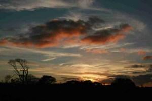 Sunset over Carvossa