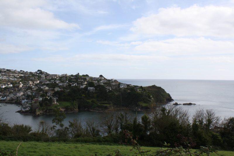 Fowey Südostküste Cornwalls