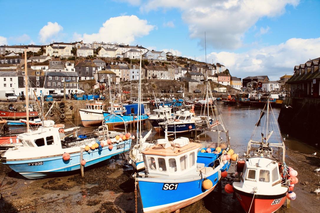 Mevagissey - Küstenstadt in Cornwall