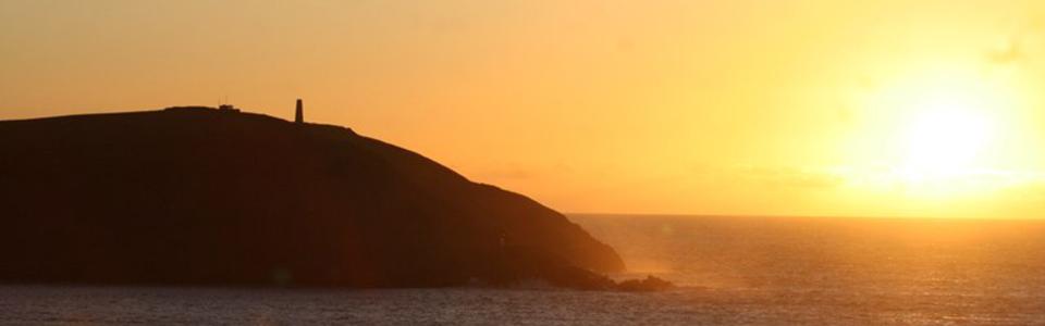Stepper Point Sunset