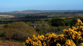stop for a view of Godolphin Hill