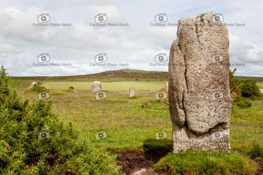 Ancient Standing Stones On Bodmin Moor