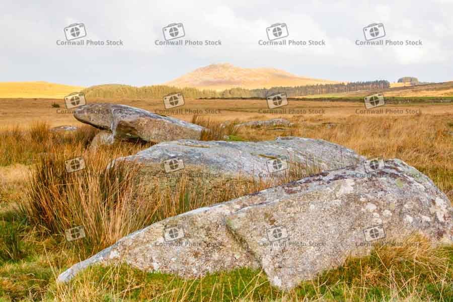 Roughtor With Boulders in Foreground