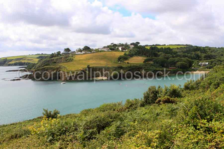 Entrance To Maenporth Cove in Cornwall