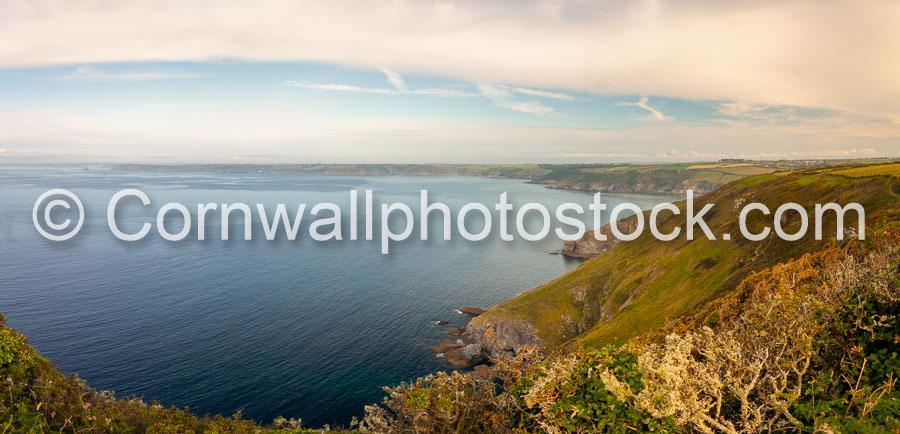 Looking Across Veryan Bay From Dodman Point