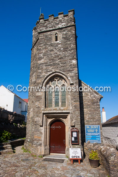 St Just Church In Gorran Haven
