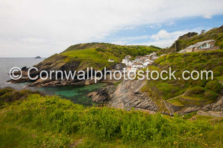 Portloe And Harbour Entrance