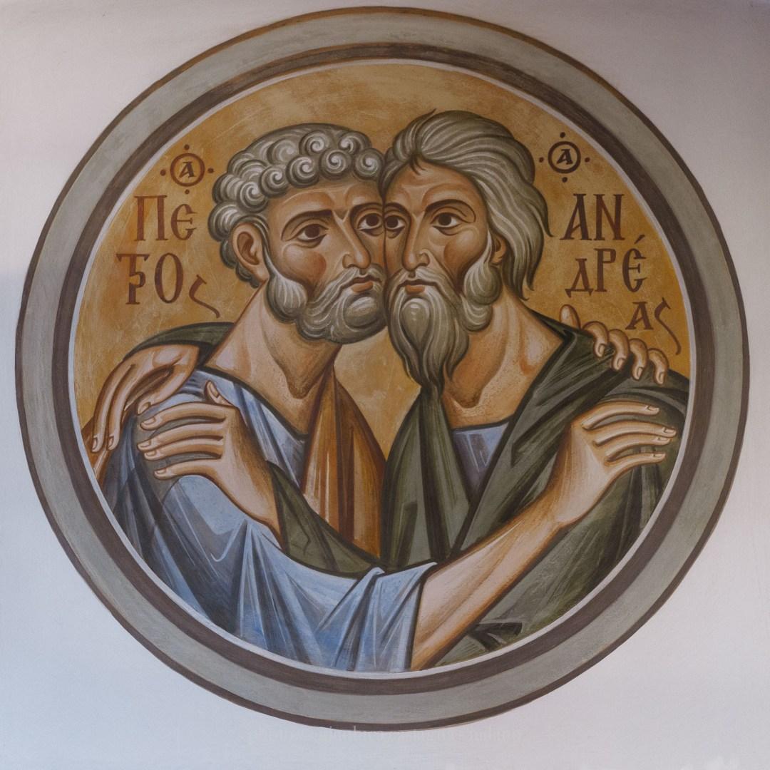 SS Apostoli Pietro e Andrea nell'abbraccio dell'unità
