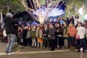 coroinfantilsf 2013 en San Francisco. Badajoz, Navidad 2013. Fotografía de Luis Soriano
