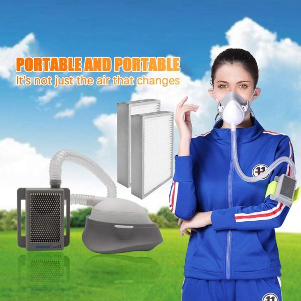 coronabestdefense-Air Purifier with Electrical Mask