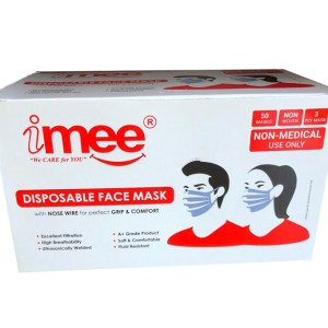 coronabestdefense- Imee Disposable Face Mask