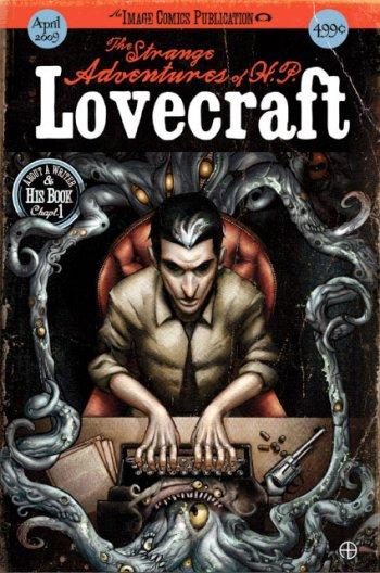 The Strange Adventures of H.P. Lovecraft #1