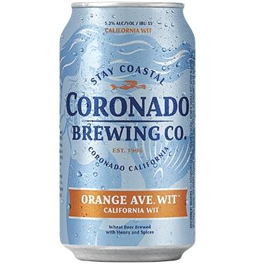 Orange Ave  Wit - Coronado Brewing Company