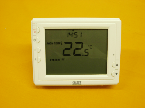 Thermostat Connection This Shows The Interface On The Hvac Controller