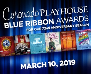 2018 BLUE RIBBON AWARDS @ Coronado Playhouse | Coronado | California | United States