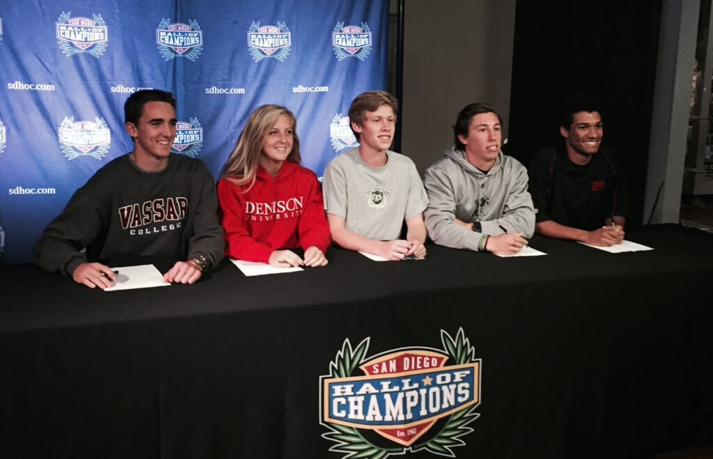 February 4, 2015, Marked The Second National Letter Of Intent Signing Day  For A Number Of Ncaa Sports. Student Athletes From All Over San Diego  Gathered At